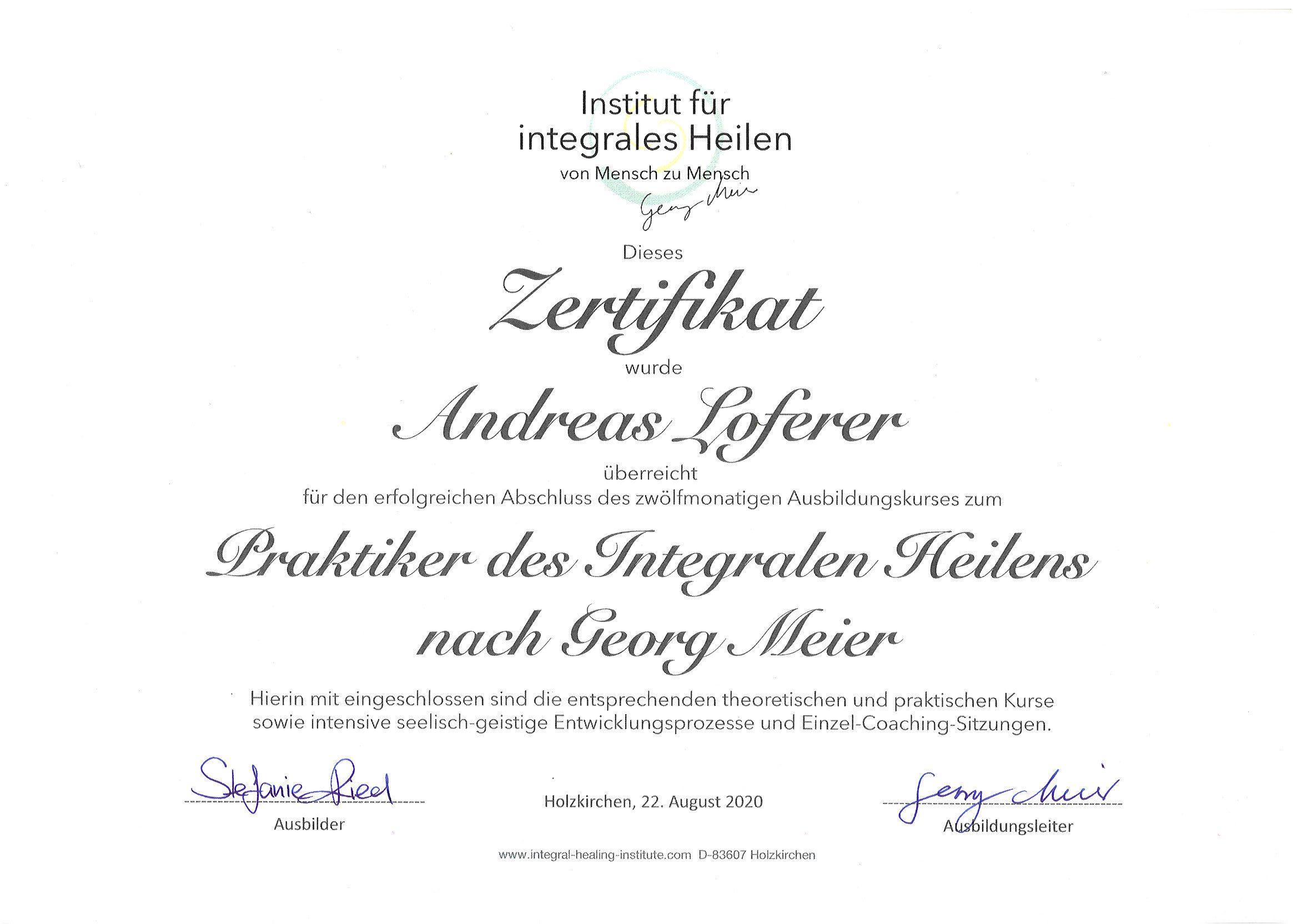 Integrales Heilen